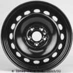 KRONPRINZ steel wheel dostawcza Kronprinz, Fiat Doblo 01/10-, 6 J x15 H2