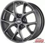 BBS Alloy Wheel SR satin himalay grey, 17x8. 0 5x112 ET42