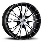 MAK Valuvelg RENNEN ICE BLACK, 18x8. 0 5x112 ET21