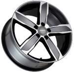 MAK Alloy Wheel STADT Mirror, 16x7. 0 5x112 ET39