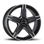 MAK Valuvelg Stern Ice Black, 17x8. 0 5x112 ET45