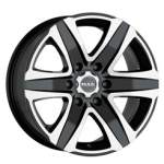 MAK Valuvelg Stone 6 Black Mirror, 16x8. 0 6x139. 7 ET35