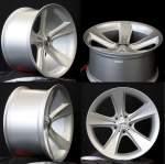 NANO diski Alloy Wheel Nano BK086 Silver, 17x8. 0 5x120 ET20