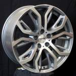 NANO diski Valuvelg Nano BK510 Grey Polished, 20x0. 5 5x120 ET40