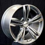 NANO diski Valuvelg Nano BK707 Grey Polished, 18x8. 5 5x120 ET30