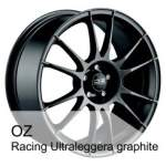 OZ Valuvelg Racing Ultralegg Graph, 17x8. 0 5x100 ET48