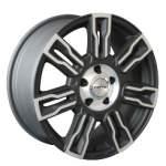 NANO diski Alloy Wheel Nano YU7228Matt Black Pol, 18x8. 0 5x127 ET50