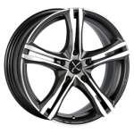 OZ Valuvelg Racing X5B Graph Pol, 17x7. 5 5x108 ET45