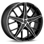 OZ Valuvelg Racing Quaranta BLK, 17x7. 0 4x100 ET37