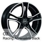 OZ Alloy Wheel Racing AdrenalinaBlack, 18x8. 0 5x108 ET38