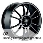 OZ Valuvelg Racing Ultralegg Graph, 18x7. 5 5x100 ET48