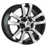 Fondmetal Alloy Wheel 7700 Black Mach, 18x8. 5 6x139. 7 ET20