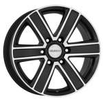 DEZENT Valuvelg TJ Dark, 16x8. 0 6x139. 7 ET35