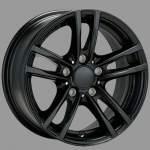 ALUTEC Alloy Wheel X10 racing-black, 160x7. 0 5x120 ET40 middle hole 72