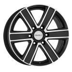 DEZENT Alloy Wheel TJ Dark, 16x8. 0 6x114. 3 ET30 middle hole 66