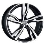 MAK Valuvelg Stockholm Ice Black, 16x7. 0 5x108 ET50 Keskava 63