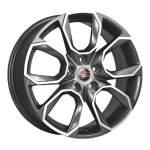 LegeArtis diski Alloy Wheel YR SK516 Gun Metal Polish, 16x6. 5 5x112 ET42