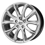 MOMO Valuvelg Screamjet Hypersilve, 18x8. 0 5x108 ET45 Keskava 72