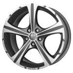 MOMO Alloy Wheel Reds Black Knight Anth DC, 17x7. 5 5x114. 3 ET40 middle