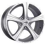 MOMO Alloy Wheel Reds Black Knight Silver, 16x7. 0 5x108 ET45 middle hole 72