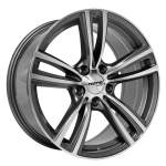 NANO diski Alloy Wheel Nano BK5055 Grey Pol, 17x8. 0 5x120 ET30 middle hole 72