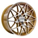NANO diski Alloy Wheel Nano BK5167 Gold Pol, 18x8. 5 5x120 ET30 middle hole 72