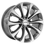 NANO diski Alloy Wheel Nano BK845 Grey Polished, 19x9. 5 5x120 ET30 middle
