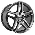 NANO diski Valuvelg Nano BK967 Grey Polished, 18x9. 5 5x112 ET45 Keskava 66