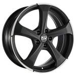 MSW Alloy Wheel 47 Matt Dark Tit Pol, 17x7. 5 5x114. 3 ET40 middle hole 73