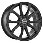 MSW Alloy Wheel 48 Matt Black, 17x7. 5 5x112 ET45 middle hole 73