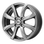 iFree Alloy Wheel Dice Hyper Silver, 15x6. 0 4x100 ET40 middle hole 67