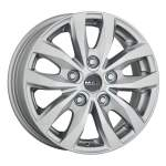MAK Alloy Wheel Load 5 Silver, 16x6. 5 5x160 ET60 middle hole 65