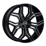 MAK Valuvelg Kingdom Gloss Black, 20x8. 5 5x120 ET47 Keskava 72