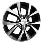 NANO diski Alloy Wheel Nano BK824GP, 17x7. 5 5x114. 3 ET45 middle hole 73