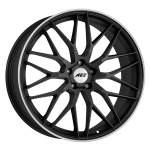 AEZ Alloy Wheel Crest Dark, 18x8. 0 5x112 ET35 middle hole 70