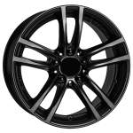 ALUTEC Alloy Wheel X10 racing-black, 17x7. 0 5x112 ET54 middle hole 66