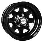 DOTZ Alloy Wheel Dakar dark, 15x7. 0 5x139. 7 ET-12 middle hole 10