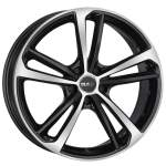 MAK Alloy Wheel Nurburg Black Mirror, 19x8. 5 5x112 ET32 middle hole 66