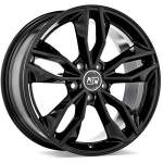 MSW Alloy Wheel 71 Gloss Black, 17x7. 5 5x112 ET45 middle hole 57