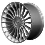 NANO diski Alloy Wheel Neaktuals paramters, 19x9. 5 5x120 ET14 middle hole 74