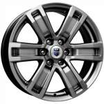KiK Alloy Wheel P-7 Ralph Dark Platin, 16x7. 0 6x139. 7 ET38 middle hole 67