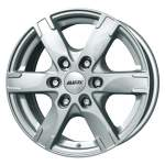 ALUTEC Alloy Wheel Titan Silver, 17x7. 5 6x139. 7 ET38 middle hole 67