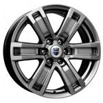 KiK Alloy Wheel P-7 Ralph Dark Platin, 17x7. 5 6x139. 7 ET25 middle hole 06