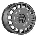 OZ Alloy Wheel Rally Racing Graphite, 17x7. 0 5x114. 3 ET45 middle hole 75