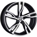 MAK Valuvelg Stockholm Ice Black, 20x8. 5 5x108 ET50 Keskava 63