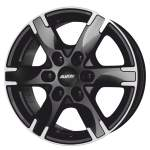 ALUTEC Alloy Wheel Titan Black Polish, 18x8. 0 6x139. 7 ET29 middle hole 06