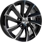 KiK Alloy Wheel SKAD KL-273 Black Polish, 16x6. 5 5x112 ET46 middle hole 57