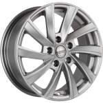 KiK Alloy Wheel SKAD KL-273 Silver, 16x6. 5 5x112 ET46 middle hole 57
