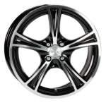 ACC Viper Black Polished 73, 1 13x5, 5 4x100 Offset 20