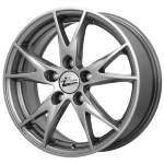 iFree Alloy Wheel Nirvana Hyper Silv, 15x6. 5 5x100 ET40 middle hole 67